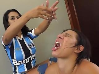 Spitting Humiliation Brazil