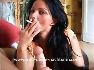 Candy Samira Classic Smoking Bj And Fuck