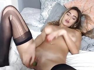Awesome Dirty Little Princess Masturbates Her Tight Pussy