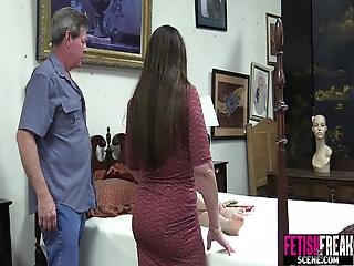 Fetishfreakscene Hardcore Threesme With Teen Babysitter