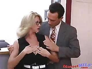Milf Fucked Hard In The Office