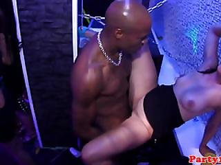 European Amateur Sucking Dick On Dancefloor