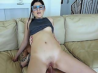 Richie Anal Fuck Miranda Miller On Top Of His Cock