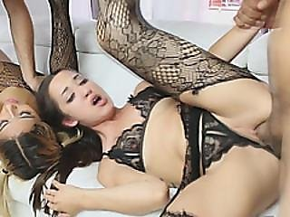 Swapping Stepdaughters For A Hardcore Fucking With Ally Berry And Freya Von Doom