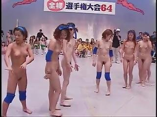 Japanese Tv Games With 64 Naked Girls