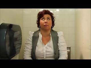 Girls Have Diarrhea In Public Bathroom