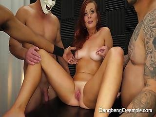 Married Girl Next Door 1st Gangbang With Hot Tan Lines