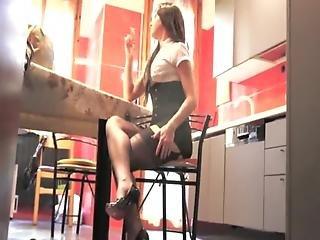 Maison, Femme Au Foyer, Milf, Sexy, Femme