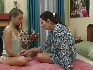 Lesbian Teen And Mature