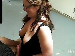 Hotwife Blows Husbands Friend