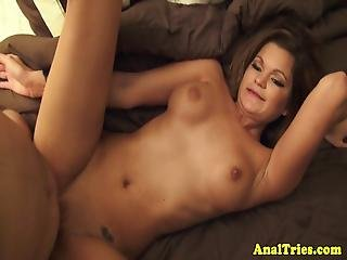 Doggy Style Loving Beauty Gets Ass Fucked