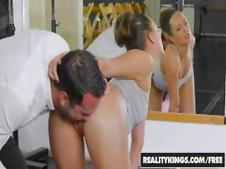 Reality Kings Sexy Dancer Kai Taylor Loves Two Things Ballet And Cock