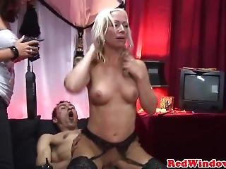 Red Light Hooker Pussylicked Before Fucking