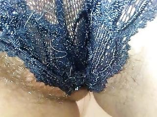 Pissing My Panties And Stuffind Them In My Pussy After