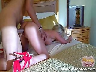Sexy Wife Gets Creampie From Large Dick