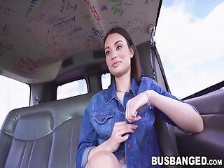 Tiny Teenie Liv Wild Picked Up And Pounded In The Van! Her Juicy Little Pussy Needed To Get Fucked Deep And Hard!