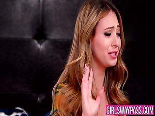 Busty Stepmom Licks Forbidden Pussy In Dyke Threesome