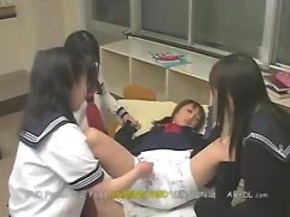 Schoolgirls Pissing Their Panties
