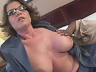 Busty Milf Kayla Quinn Gives A Great Bj And Gets Fucked By A Bbc