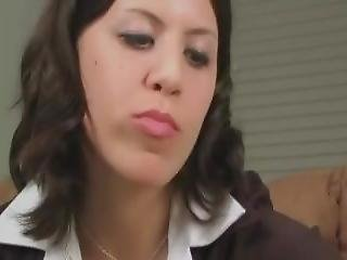 Giantess A Business Meeting Unaware