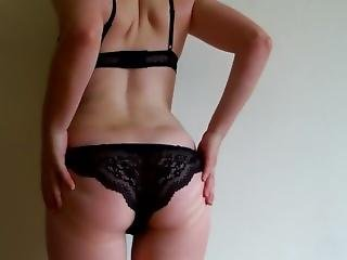 Hairy French Teen With Perfect Butt First Teasing Video By Ravenkitty