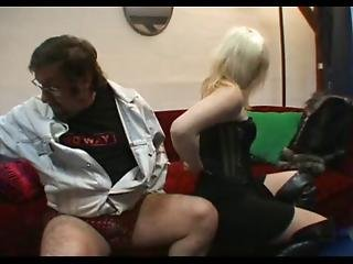 Liliane Fucked By A Hobo And Teen Gangbanged In Parking Basement