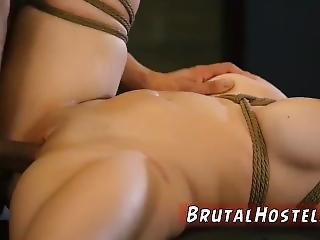 Extreme Brutal Anal Fisting Big-breasted Towheaded Cutie Cristi Ann Is On
