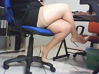 Versteckte Kamera Büro Sekretärin