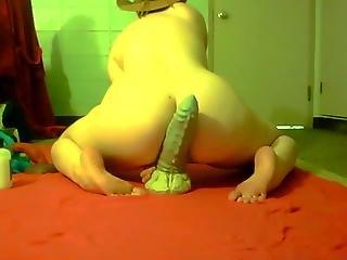 Dragon dildo anal