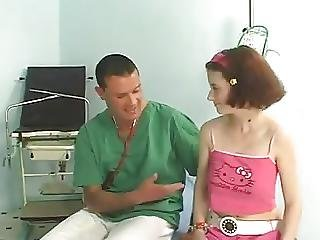 Adorable, Médico, Facial, Medical, Adolescente, Joven