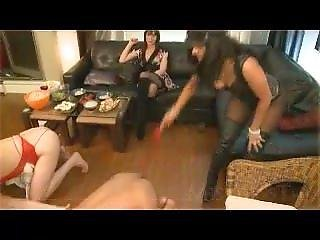 Femdom Party, Lots Of Humiliation