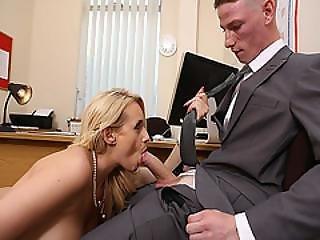 Intern Felix Jones Big Cock Suck By Angel Wicky