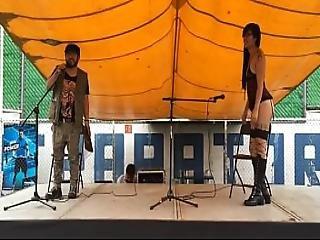 Star Kaat 1er Feria Porno Cultural Poema Al Desnudo 2015