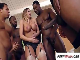 Pornmania.org Brooklyn Chase Gangbang Anal Big Boobs Interracial