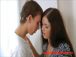 Russian Teen Angel Sucks And Fucks