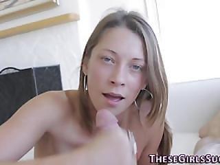 Pov Teenager Suck Cumshot