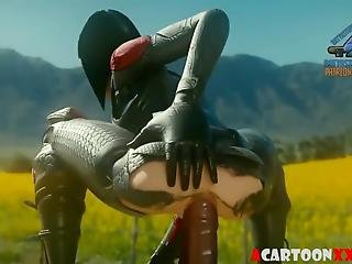 Hot Fortnite Sex Drilling And Blowjobs