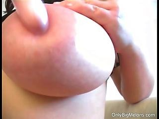 Joanna Big Tits Amp Dildo Fun