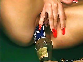 Birra, Bottiglia, Fisting, Lesbica, Matura, Fica, Sesso, Rasata