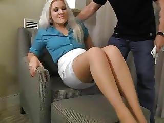 Sexy Milf Tied