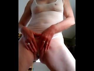 Kathy Teasing In The Kitchen