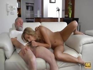 Old4k Young Wife Enjoys Pleasurable Morning With Old Husband