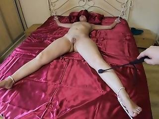 Tied Up And Fucked A Brunette Girl