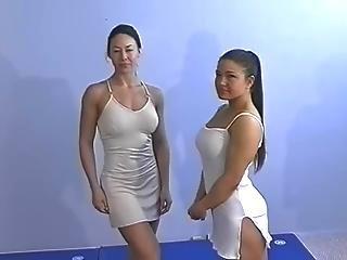 Topless Female Wrestling Charlene Rink Vs.veronica