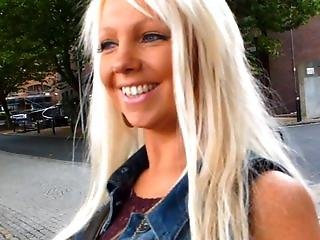 Johnny Rockard Street Pick Up. The Blonde Welsh Milf And A Nutella Blow Job