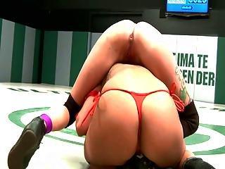 Lesbian Wrestling Scenes And Bondage Sex