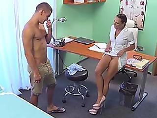 Patient Fucks Nurse In Hospital