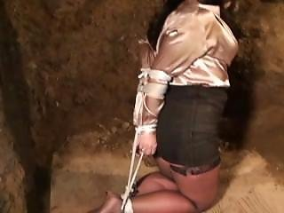 Milf Dreagged And Tied Up In Basement