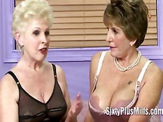A Couple Of Milfs Get Questioned