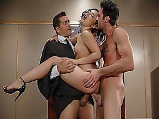 Kristina Rose Double Fuck In The Court By Dera And Ramon